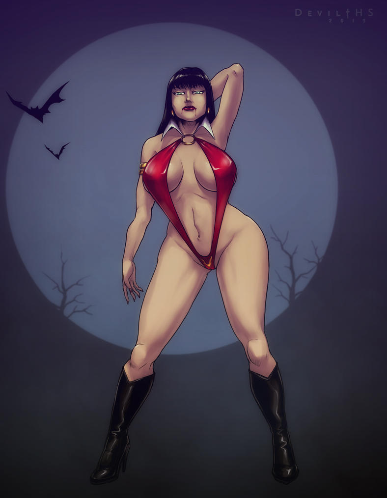 Vampirella futanari pics gallery naked image