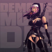 Demons Must Die by devilhs