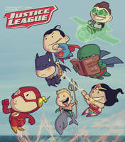 Justice League by devilhs