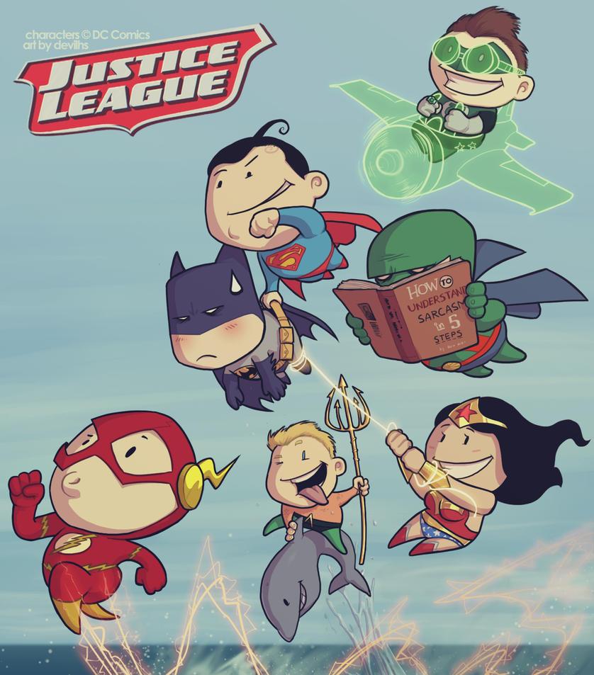 Justice League by devilhs