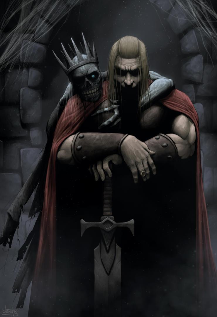 Dead Man's hand by devilhs
