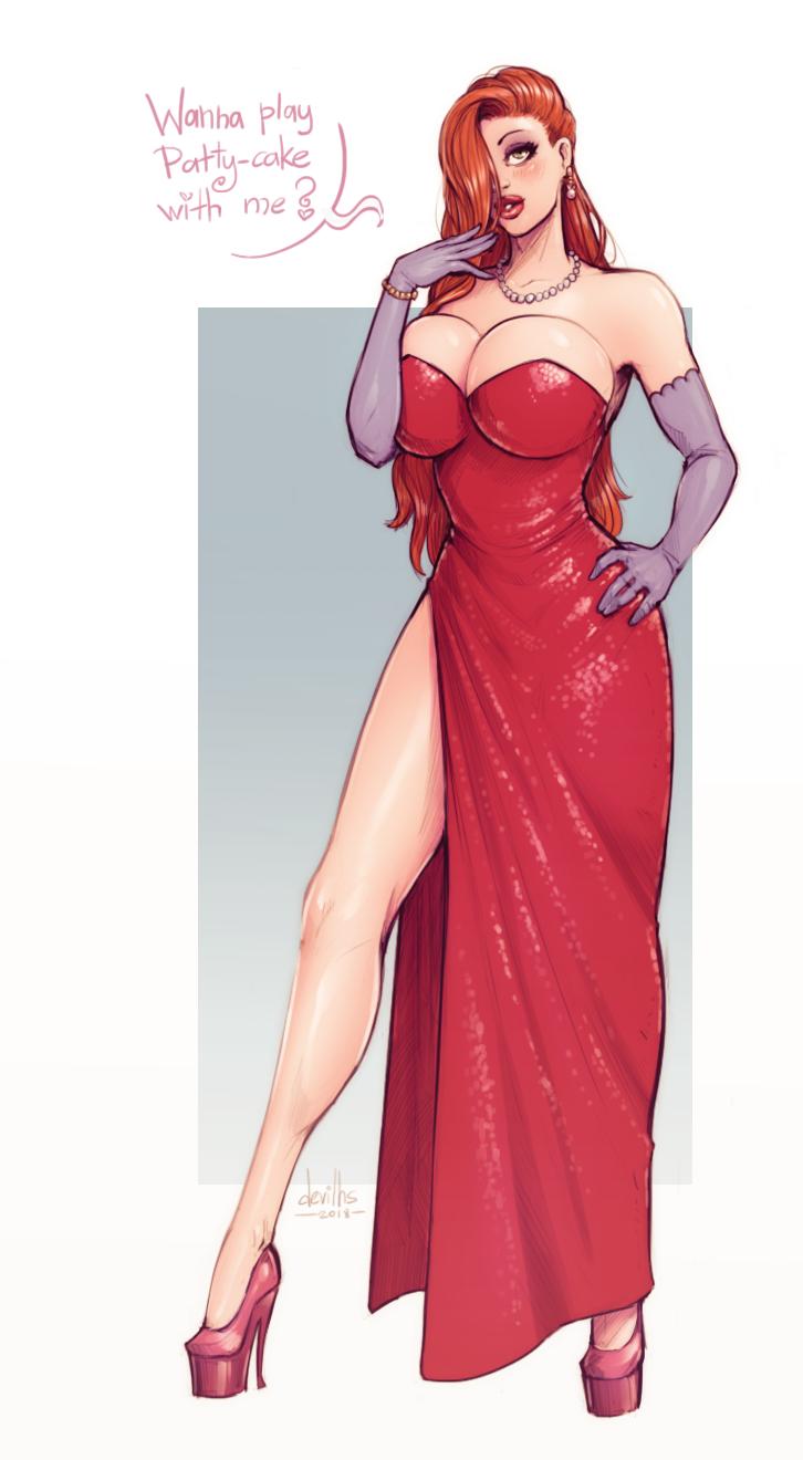 Jessica Rabbit by devilhs
