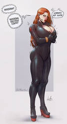 Black Widow by devilhs