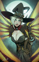 OW: Mercy Witch by devilhs