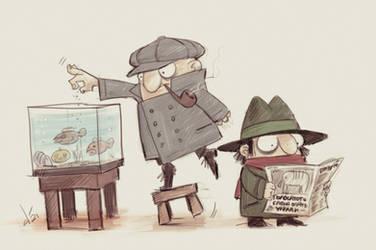 Kolobki detectives by devilhs