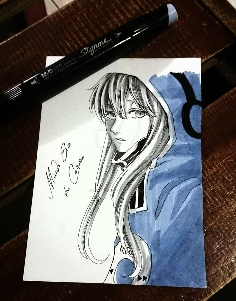 FanArt: Tsubomi Kido by Cursed-9-11