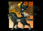 Midna and WolfLink