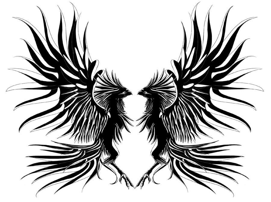 Phoenix Tattoo by ElyFlycorn