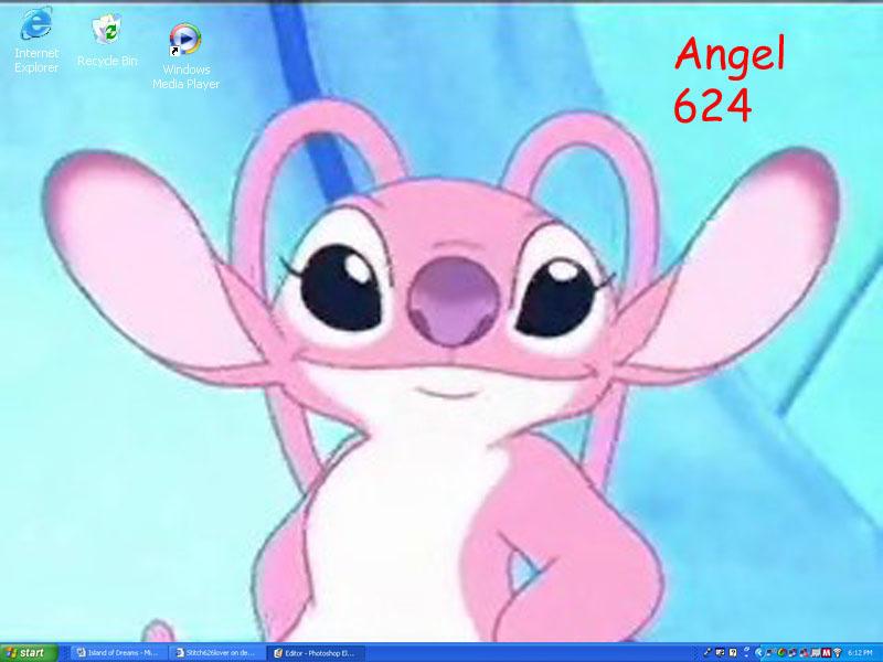 Angel 624 Desktop By Stitch626lover