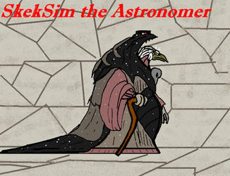 SkekSim the Astronomer by GearGades