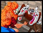 Commission  - Gunnar's big ticklish soles by GearGades