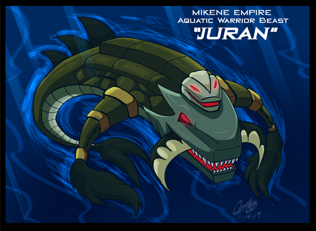 Mazinger Series -Mikene Empire Warrior Beast Juran by GearGades