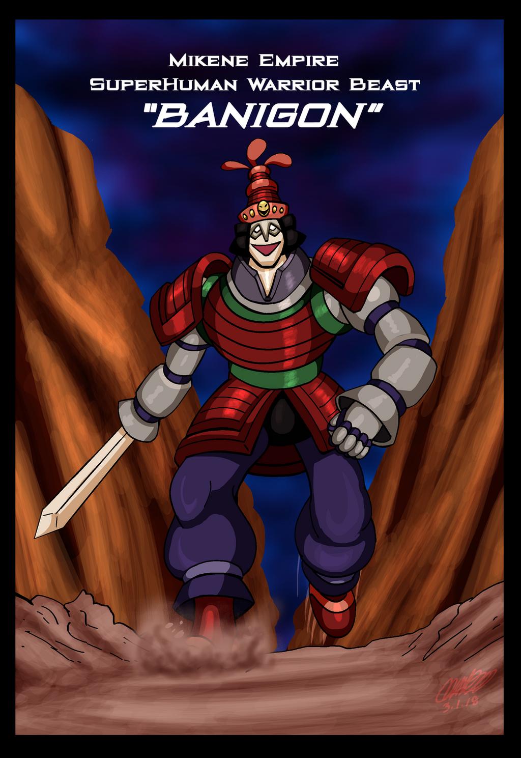 Mazinger Series - Mikene Warrior Beast Banigon by GearGades