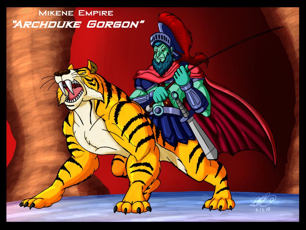 Mazinger Series - Mikene Empire's Archduke Gorgon by GearGades