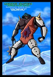 Mazinger Series - Warrior Beast Goriki by GearGades