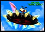 UFO Robot Grendizer Saucer Beast Giba Giba by GearGades