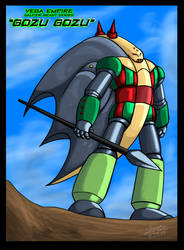 UFO Robot Grendizer Saucer Beast Gozu Gozu by GearGades