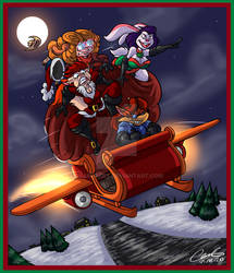 Christmas Take Off by GearGades