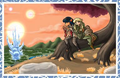 Jen and Kira by GearGades