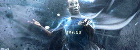 Didier Drogba by AZOuZ-TORRES-9