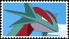 Salamence stamp by Crimson-SlayerX