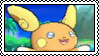 Alolan Raichu Stamp by Crimson-SlayerX