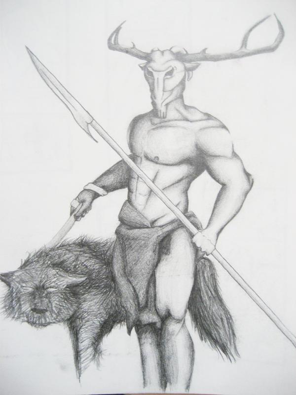 Hircine Drawing
