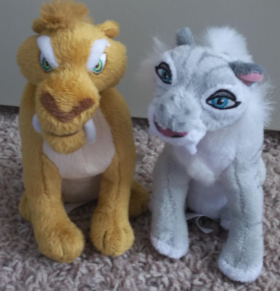 ice age shira and diego plush by queenashley455 on DeviantArt  ice age shira a...