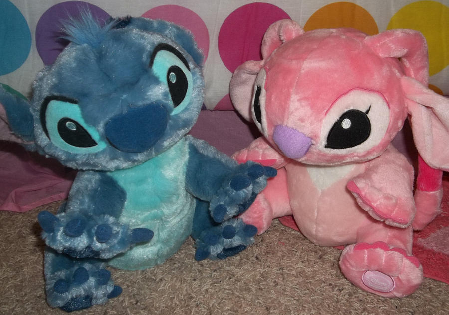 Stitch And Angel Plush Stitch and angel plush by