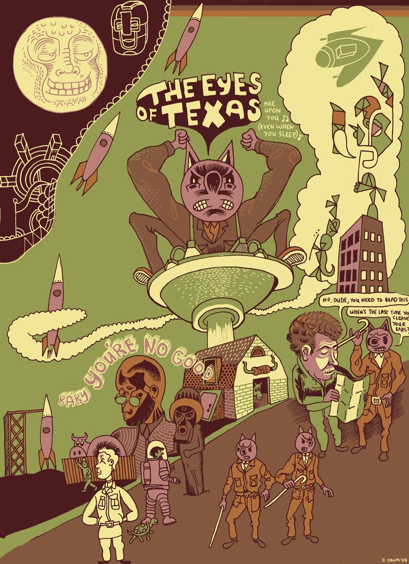 eyes of texas by JayCrum