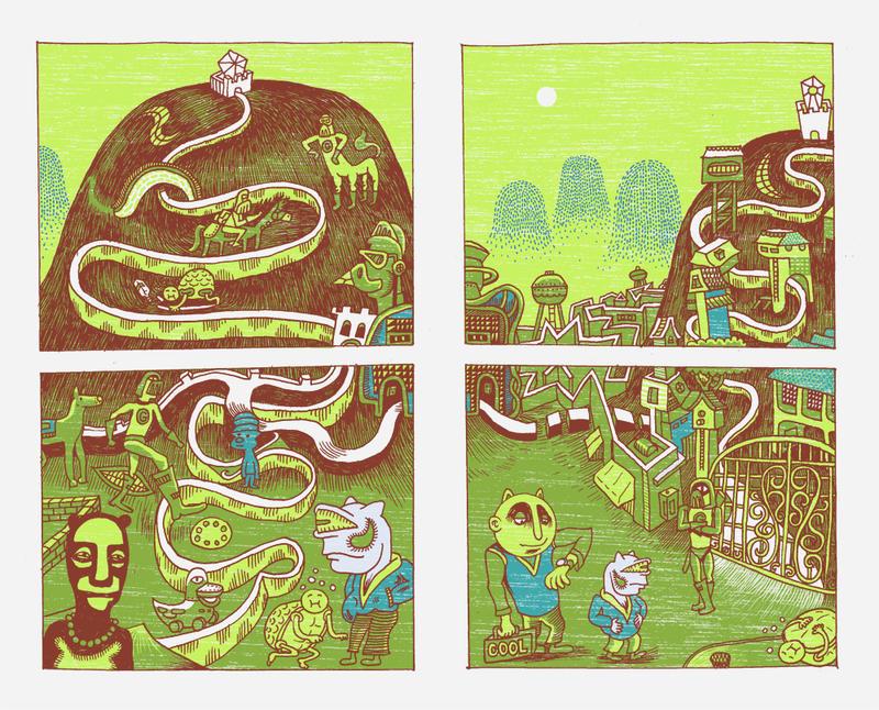 Maze Seven by JayCrum