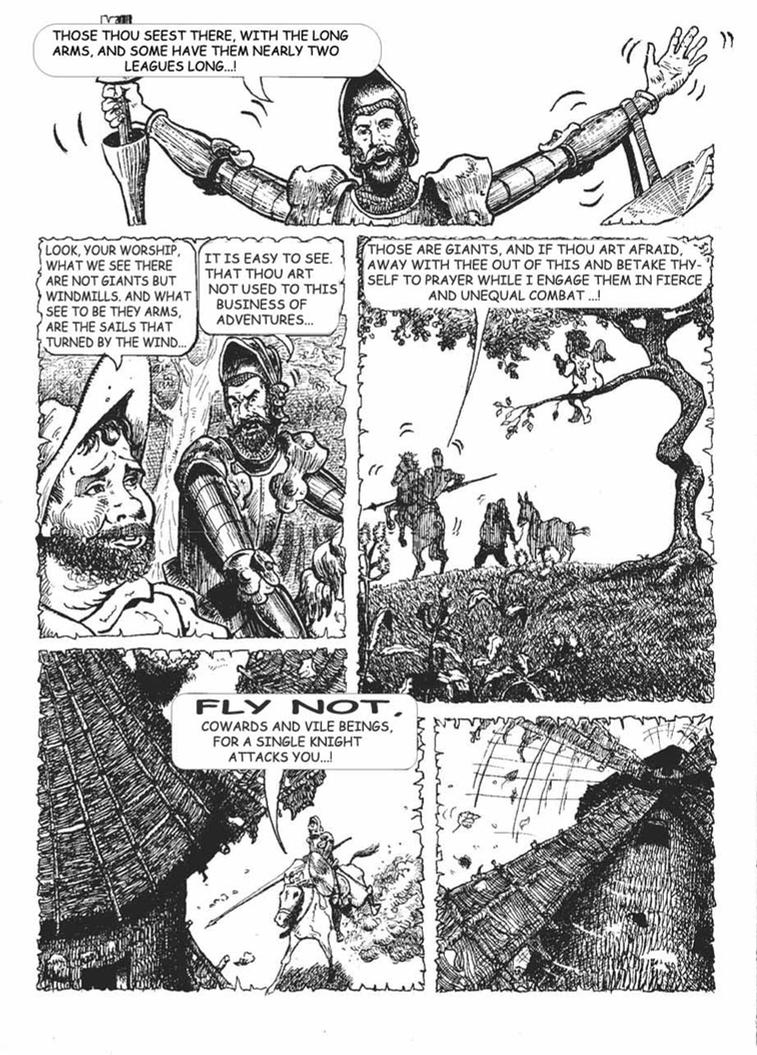 Classics Illustrated 011 Don Quixote 1943 comic books