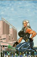 Olga the giantess by theborrowergts