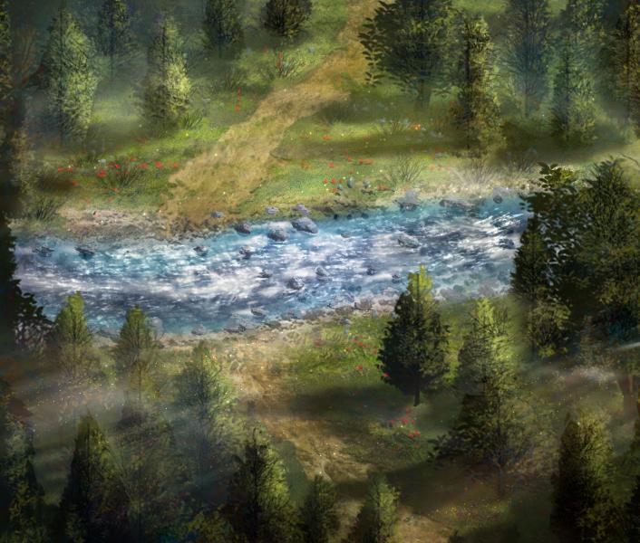 Mountain river by DamianKrzywonos