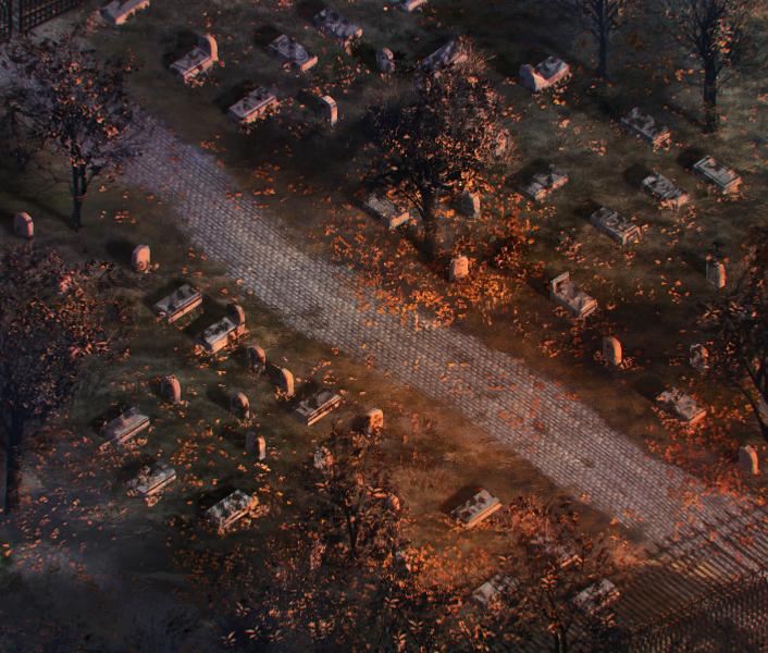 Graveyard by DamianKrzywonos