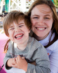 Jackie and Holden - Fair 2010