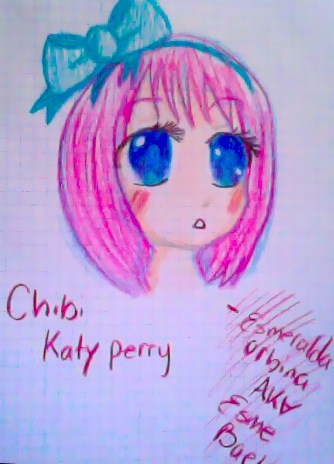 Katy perry chibi drawing