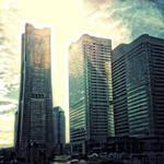 Yokohama Landmark Tower by KaitoVIP