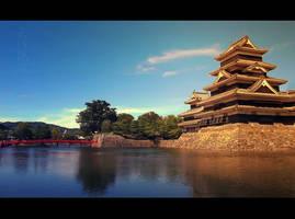 Matsumoto Castle by KaitoVIP