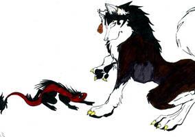 Werewolf by TheMuffinMansDemise
