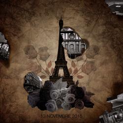 #ParisAttacks by T-Sathori