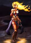 Pira, Ifrit Sorceress