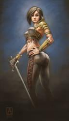 Rogue Character by Smolin