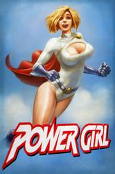 Power Girl by Smolin