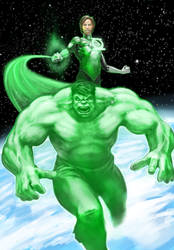 Green Lantern SMASH! by Smolin