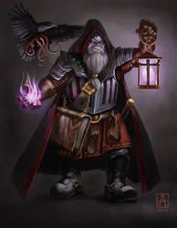 Commission: Fargrim Shadowforge by Smolin