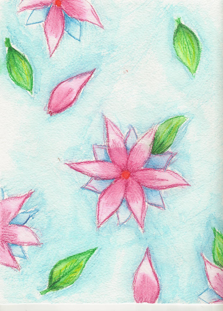 Watercolor Pencil Fun: Flowers by Sniffles-And-Frisky on ...