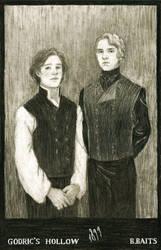 Albus Dumbledore and Gellert Grindelwald by BelindaBaits