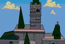 Link vs. Mario by SharinganAce