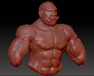 Major Armstrong ZBrush WIP2